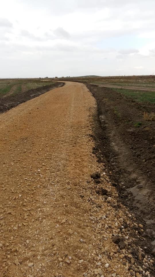 Arazi Yollarının Yapım Çalışmaları